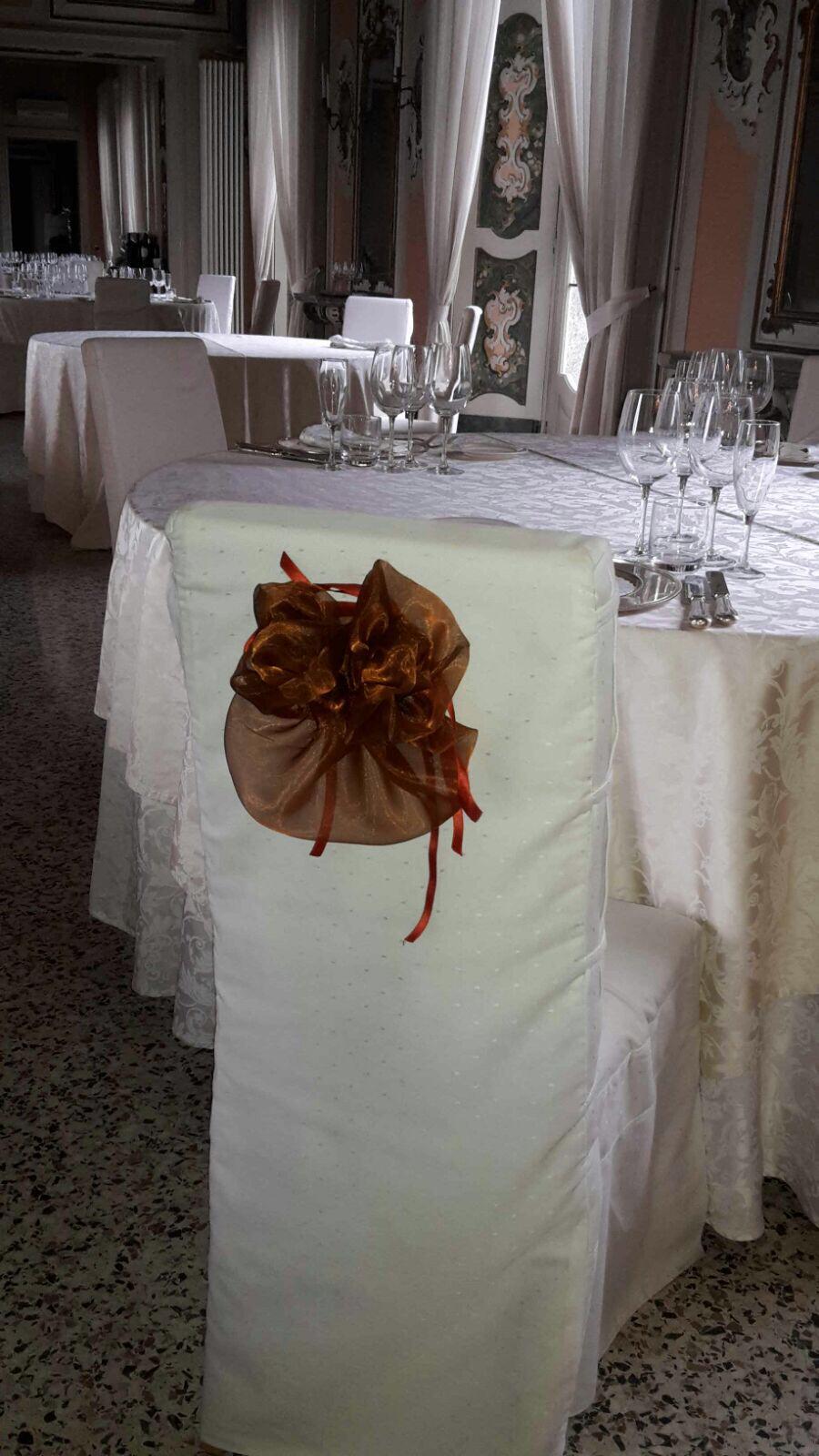 sedia decorata