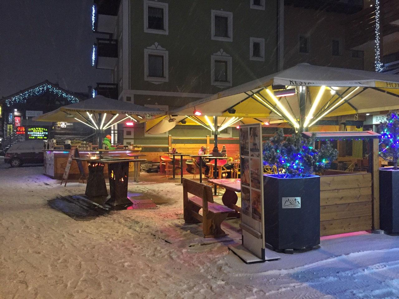 hotel möta livigno inverno